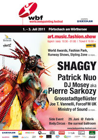 World Bodypainting Festival @Whaliß Wiese