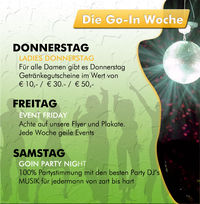 Ladies Donnerstag@Go-In