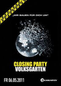 Volksgarten Closing Party