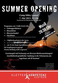 Summer Opening Kletterkompetenzzentrum@Camp Sibley