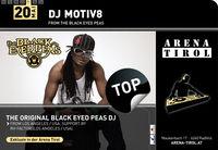 DJ Motiv8 from the Black Eyed Peas