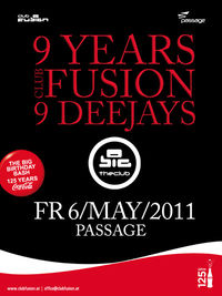 9 Years Club Fusion@Babenberger Passage