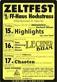 Zeltfest FF-Hochstrass