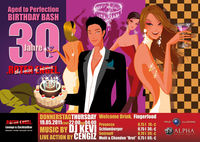 Aged to Perfection 30th Birthday Bash@Roter Engel