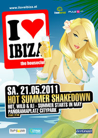 I love Ibiza - Hot Summer Shakedown