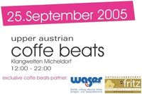 Upper austrian coffe beats@Klangwelten Micheldorf