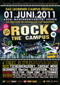 Rock the Campus@Areal Montanuniversität Leoben