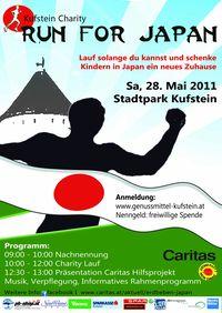 Kufstein Charity - Run for Japan@Stadtpark Kufstein