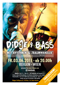 Didge & Bass - das Didgeridoo Kultevent in Wien@Reigen