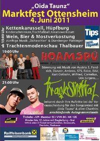 Marktfest Ottensheim feat. Trackshittaz & Hoamspü@Marktplatz Ottensheim