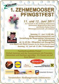 1. Zehmemooser Pfingstfest@Bürmoos-Zehmemoos Wohnsiedlung