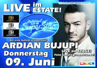 DSDS Ardian Bujupi LIVE im Estate@Club Estate