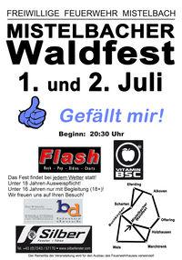 Mistelbacher Waldfest.....Gefällt mir!