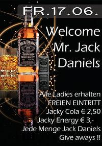 Welcome Mr. jack Daniels !