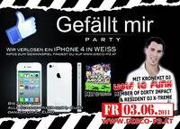 Gefällt mir Party - Gewinne ein iPhone 4 in weiss mit Kronehit DJ Wolf le Funk