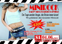 Minirock Party - Gewinne 300€ in Bar@Disco P3