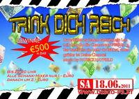 Trink Dich Reich und gewinne 500 € in Bar@Disco P3