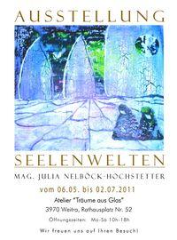 """Ausstellung """"Seelenwelten""""@Atelier Träume aus Glas"""