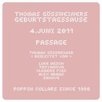 Thomas Gössweiner´s Great Birthday DJ-Bash@Babenberger Passage