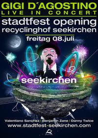 Opening Party Stadtfest Seekirchen