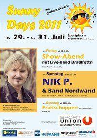Sunny Days 2011@Sportplatz Sportunion Neuhofen