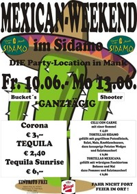 Mexican Weekend@Cafe Sidamo Mank