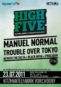 High Five - Dezibel wird 5 Geburtstagsfest