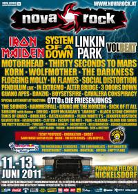 Nova Rock 2011 Tag 0