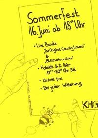 KHG-Sommerfest