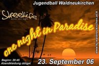 Jugendball One night in Paradise@Turnhalle