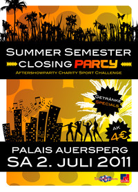 Summer Semester Closing Party