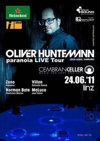 Oliver Huntemann - paranoid Live tour