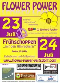 Flower Power Veitsdorf@Maschinenhalle Minichberger