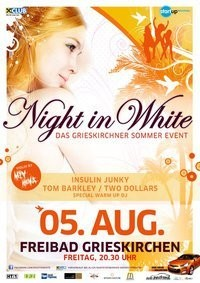 Night in White@Freibad Grieskirchen