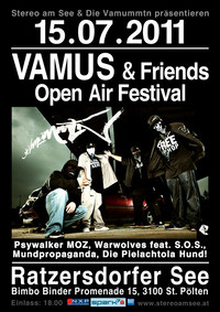 Vamus & Friends Open Air Festival@Ratzersdorfer See