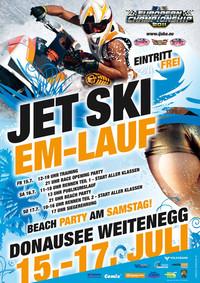 Jetski Europameisterschaft@Donausee Weitenegg