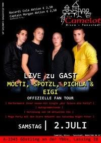 Molti, Spotzl, Pichla & Eigi Fan Tour