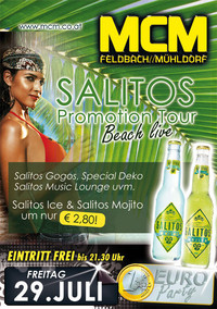 Salitos Promotion Tour, Beach live!!