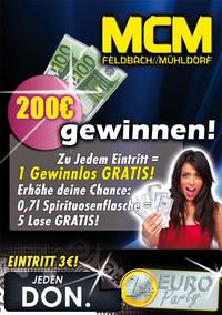 200€ gewinnen@MCM  Feldbach