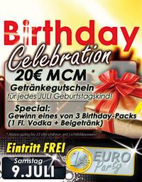 Super 1¬ Party!