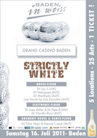 Baden In Weiss – Strictly White@Casino Baden