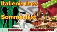 Italienisches Sommerfest