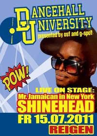 Mr. Jamaican In New York - Shinehead Live@Reigen