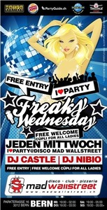 Freaky Wednesday@CU-Club ( Bern )