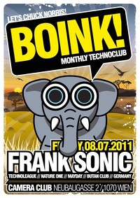 BOINK! with FRANK SONIC@Camera Club