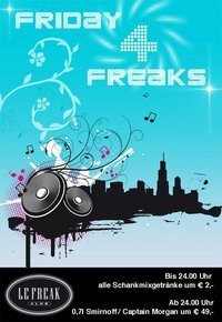 Friday 4 Freaks