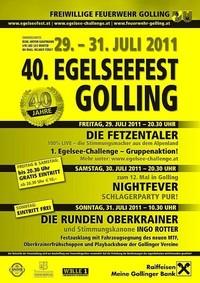 40. Egelseefest Golling - das Jubiläumsfest!@Festzeltgelände am Egelsee