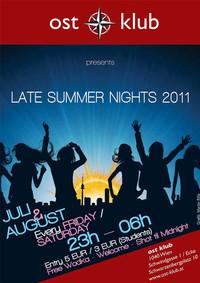 Late Summer Nights@OST Klub