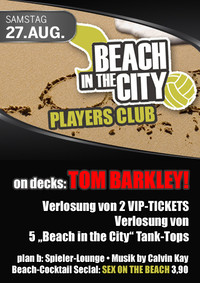 Beach in the city - Players club