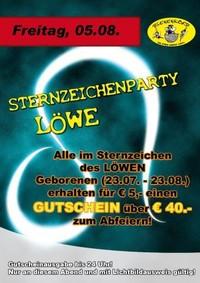 Sternzeichenparty Löwe@Bienenkorb Schärding